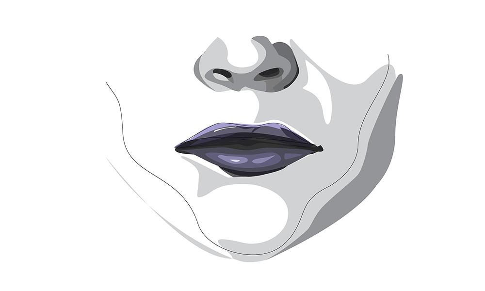 Besonders Frauen mit kleinem Mund und schmalen Lippen wird oft ungerechterweise unterstellt, verbissen zu wirken.